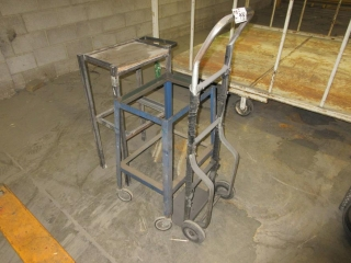 Metal Table, Cart And Dolly  UNRESERVED