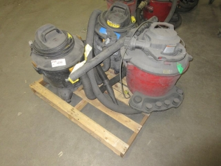 Misc. Shop Vacuums  UNRESERVED