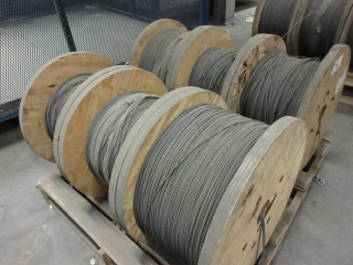 Spools Of Wire (Must Take 6 Times The Bid Price) UNRESERVED