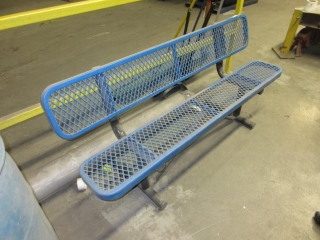 Metal Bench  UNRESERVED