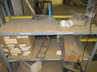 Metal Shelf And Contents UNRESERVED