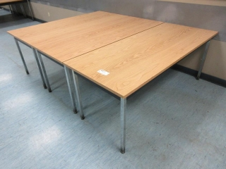 Lunchroom Tables (Must Take 3 Times The Bid Price)  UNRESERVED