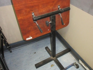 End Table On Wheels UNRESERVED