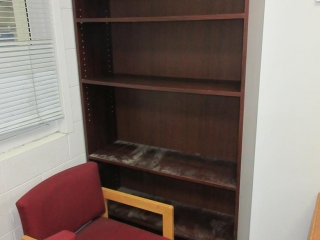 Office Desk, Bookshelf, Chairs And White Board UNRESERVED