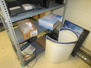 Metal Shelf Plus Contents  UNRESERVED
