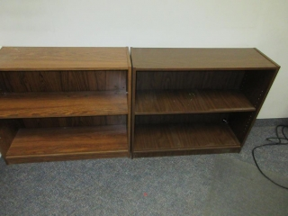 Office Desk, Chair, Table And Bookshelves UNRESERVED
