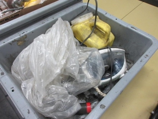 Misc. Items, Glue, Oil Can And Iron UNRESERVED