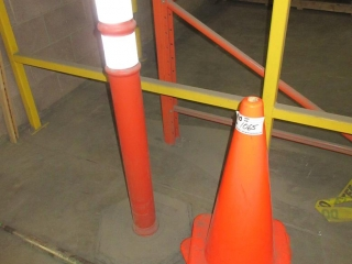 Pylons And Barricade Post UNRESERVED