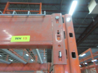 3 Section Of Pallet Racking  UNRESERVED