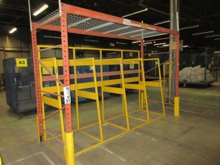 Misc. Length Of Pallet Racking UNRESERVED