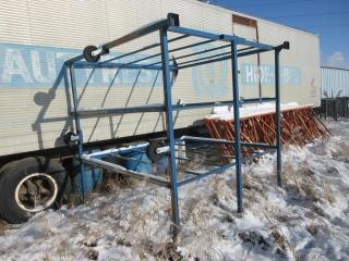 Metal Rack On Wheels UNRESERVED