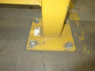 Steel Guard Rail (Must Take 2 Times The Bid Price) UNRESERVED