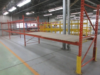 3 Section Pallet Racking  UNRESERVED