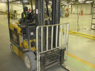 Yale Forklift Electric ** Will Be Used For Cleanup**  UNRESERVED