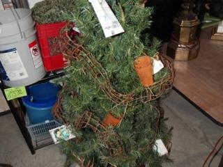 Gardeners Christmas tree.
