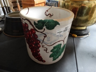 Hand painted Pittsburgh pottery #3 crock