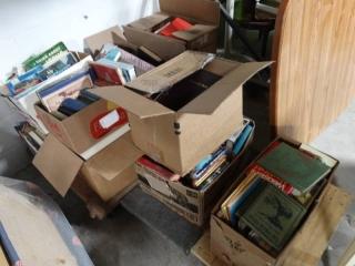 Huge lot of books.