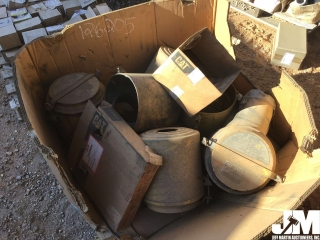 QTY OF USED CATERPILLAR PRECLEANERS