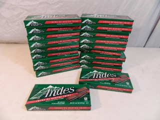 20 New Boxes of Andes Mints