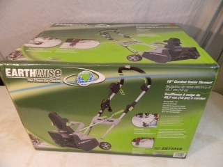 New Earthwise Snowblower