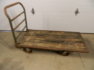 Vintage Nutting Warehouse Cart