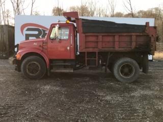 1996 International 4900 DT 466E Dump Truck