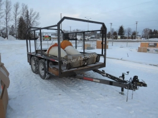 2000 Homemade Utility Trailer 108 in. X 75 in.