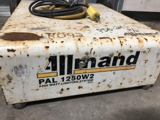 Allmand Pal 1250 Light Tower UNRESERVED