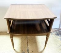 Vintage End Table With Lower Shelf, 23.75