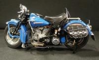 Franklin Mint 1948 Harley Davidson Panhead With Saddlebags