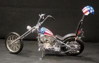 Franklin Mint Harley Davidson Easy Rider Chopper, 1:10 Scale