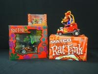 Rat Fink 1:24 Scale Matco Tools '52 Ford Mod Rod, 1/3500 And Rat Fink Matco Tools 25th 1:24 Scale Ol...