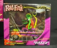 Rat Fink 1:24 Scale Diecast Models, Includes 1970 Plymouth Superbird, Limited Edition, 1969 Dodge Ch...