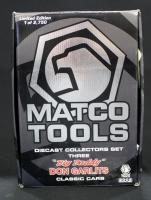 Matco Tools Big Daddy Don Garlits 1:24 Scale Classic 3 Car Set, Includes '47 Studebaker, '55 Chevy A...