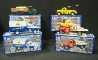 Four NAPA 75th Anniversary 1:24 Scale Diecast Trucks, First Through Fourth In A Series, See Descript...