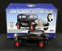 Franklin Mint 1:24 Scale Diecast John Dillinger's 1933 Ford Deluxe