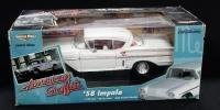 Ertl American Muscle 1:18 Scale Diecast American Graffiti 1958 Impala