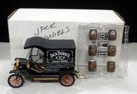Franklin Mint Jack Daniels Ford Model T Delivery Wagon, With Barrels