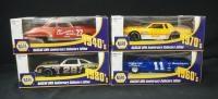 NAPA NASCAR 50th Anniversary Collectors Era Series 1:24 Diecast Cars, 4 Of 6 In Series, See Descript...
