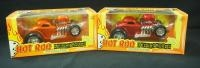 Two Hot Rod Underground Defibrillator, 1 Red 1 Orange
