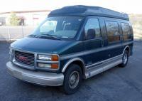 1997 GMC Savana Limited 1500 Handicap Lift Van, With Lift, Electric Slide Sofa, TV/VHS, V8, 5.7L, 14...