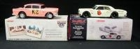 Dale Earnhardt K-2 1956 Ford Victoria Limited Edition And Dale Earnhardt Doc's Cycle Center 1964 Che...