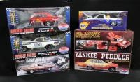 Collection Of Diecast, 5 Of 6 Are 1:18 Scale, See Description For List Of Cars