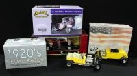 Collection Of Street/Hot Rod Diecast Cars, See Description For List, Qty 6