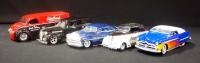Collection Of 1:24 Scale Diecast Models, Total Qty 5, See Description For List Of Cars