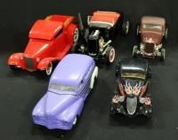 Collection Of 1:24 Diecast Models, Total Qty 5, See Description For List Of Cars