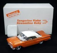Danbury Mint 1960 Impala Tangerine Flake Streamline Baby