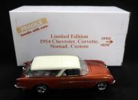 Danbury Mint 1954 Chevrolet Corvette Nomad Custom Limited Edition SN# 3223