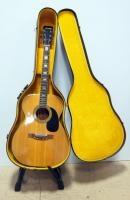 Alvarez Guitars Model No. 5047 1972 Acoustic Guitar With Adjustable Bridge, Rare Back Cut Neck With...