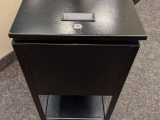 Locking Cabinet On Casters